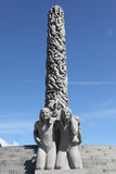 Statues in Vigeland park in Oslo Stock Photography