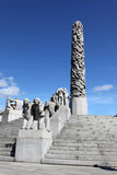 Statues in Vigeland park in Oslo Stock Image