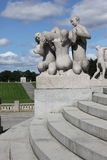 Statues in Vigeland park in Oslo, Norway Stock Image