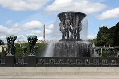Statues in Vigeland park in Oslo, Norway Stock Images