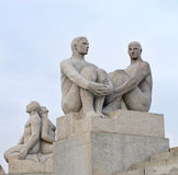 Statues in Vigeland park in Oslo, Norway Royalty Free Stock Photo