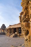 Statues of Vitthala temple. At Hampi, 15th century, state of Karnataka, India Stock Photo