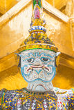 Statues in Wat Phra Kaeo, Bangkok. Statues in the Wat Phra Kaeo in Bangkok, Thailand Stock Photography