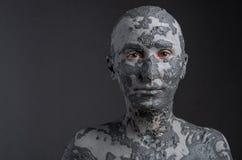 Statuesque женщина в глине спа 7 Стоковая Фотография RF