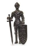 Statuetta del cavaliere Fotografia Stock