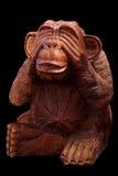 Statuetta di una scimmia Immagini Stock Libere da Diritti