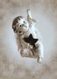 Statuette λίγος άγγελος Στοκ φωτογραφίες με δικαίωμα ελεύθερης χρήσης