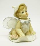 Statuette λίγος άγγελος Στοκ Εικόνες