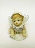 Statuette λίγος άγγελος Στοκ Φωτογραφία