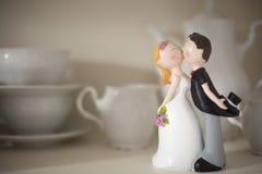 Statuette ενός παντρεμένου ζευγαριού στοκ φωτογραφία με δικαίωμα ελεύθερης χρήσης