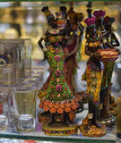 Statuette African woman Royalty Free Stock Photo