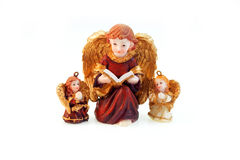 Statuette of angels Royalty Free Stock Photo
