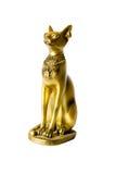 Statuette av Egypten gudinnabastet arkivfoton