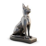 Statuette of a cat Stock Photography