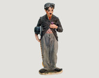 Statuette of Charlie Chaplin Stock Photo