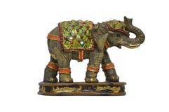 Statuette d'éléphant Photographie stock