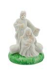 Statuette d'isolement sur le blanc Image stock