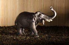 Statuette d'un éléphant photographie stock libre de droits