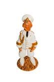 Statuette d'un capitaine de la marine marchande Photos stock