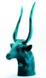 statuette d'un dieu de l'Egypte Photographie stock