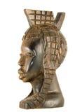 statuette de bois d'ébène images stock