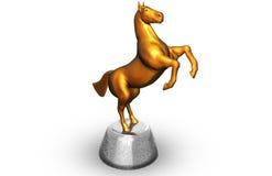 Statuette de cheval Photographie stock libre de droits