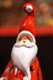 Statuette de Papai Noel Foto de Stock