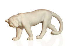 Statuette depicting pumas Stock Photos