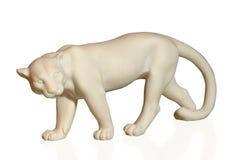 Statuette depicting pumas Stock Photos