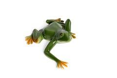 Statuette des Froschkriechens Lizenzfreie Stockbilder