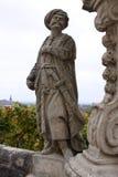 Statuette des historischen türkischen Soldaten Lizenzfreie Stockfotos