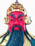 Statuette des legendären Chinesen Kuan Yu God des Krieges Lizenzfreies Stockbild