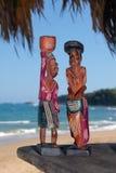 Statuette di legno Immagini Stock Libere da Diritti