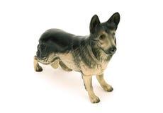 Statuette of dog,german shepherd Royalty Free Stock Photos