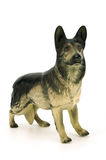 Statuette of dog,german shepherd Stock Image