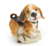 Statuette of dog Royalty Free Stock Image