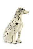Statuette of dog  isolated on white background Royalty Free Stock Photo