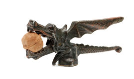 Statuette of dragon Royalty Free Stock Image