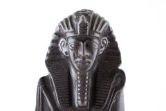 Statuette of the Egyptian pharaon Stock Photography