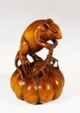 Statuette einer Maus Stockfotos