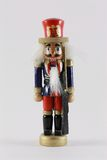 Statuette en bois de soldat Images stock
