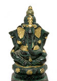 Statuette of Ganesha. A small statuette of the Indian elephant God, Ganesha Stock Image