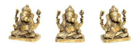 Statuette of Ganesha Royalty Free Stock Image