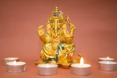 Statuette of the God Ganesh Stock Image