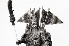 Statuette Of Guan Yu Stock Photo