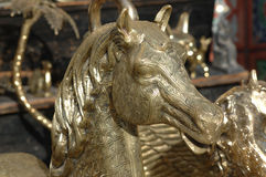 Statuette of horse Royalty Free Stock Image