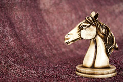 Statuette of horse Stock Photography