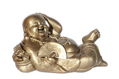 Statuette of Hotei (Buddha) Stock Images