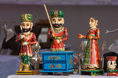 Statuette in India Royalty Free Stock Image