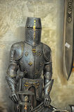 Statuette of a knight Stock Photos